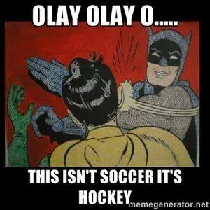 Hockey NOT Soccer