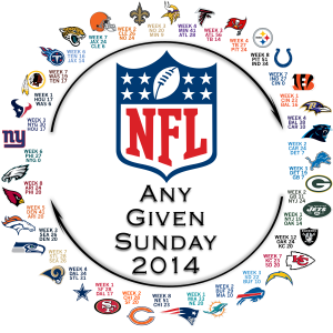 Any Given Sunday Circle of Parity