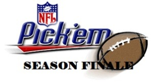 NFL Pick Season Finale