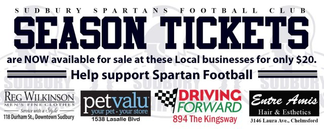 Season Tickets for sale 2015